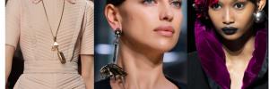 Тренды в украшениях: моносерьги, цепи и жемчуг