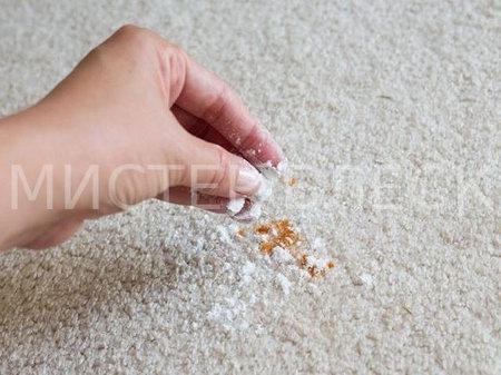 Как вывести пятно йода на ковре